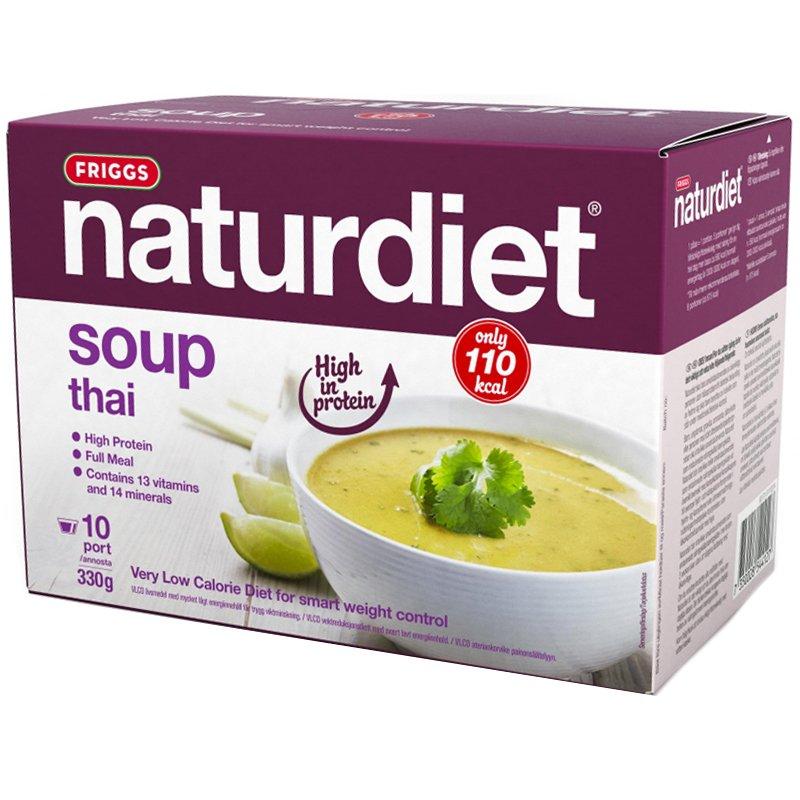 Ateriankorvike thai-keitto 10 x 33 g - 62% alennus