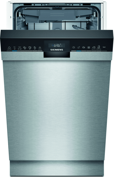 Siemens Sr45zs09ms Iq500 Underbygg. Diskmaskin - Rostfritt Stål