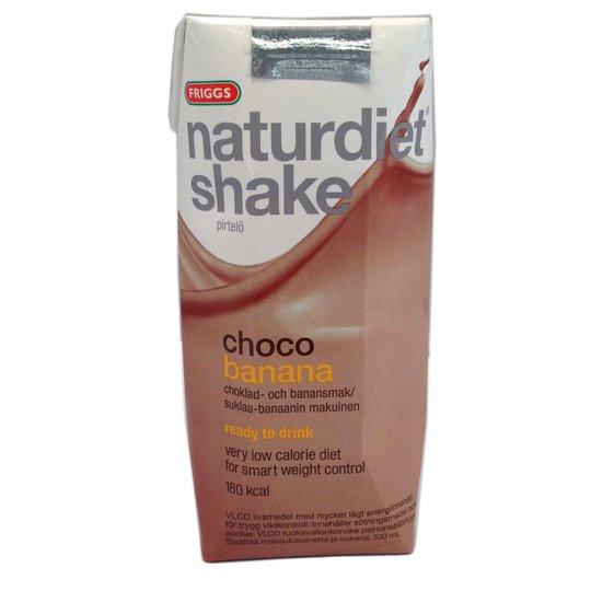Naturdiet shake choco banana - 50% rabatt