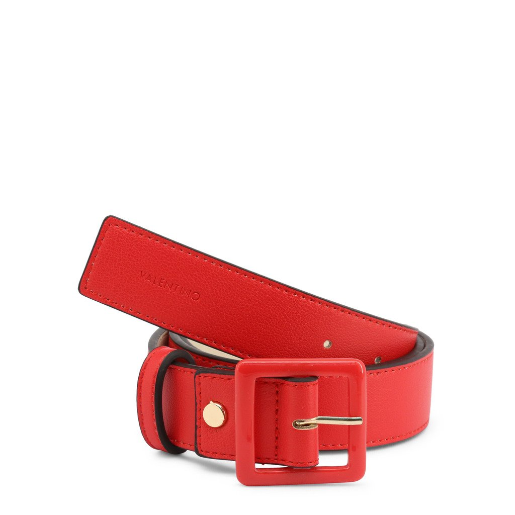Valentino by Mario Valentino Women's Belt Various Colours ANGELO-VCS3XH57 - red S