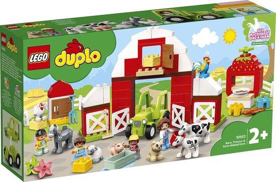 LEGO DUPLO Town 10952 Låve, traktor og bondegårdsdyr