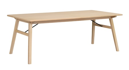 Graham matbord 200x100 vitpigmenterad ek