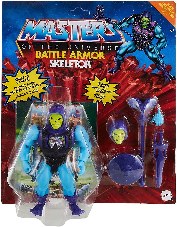 Masters Of The Universe - Origins 14 cm Deluxe Figure - Skeletor (GVL77)