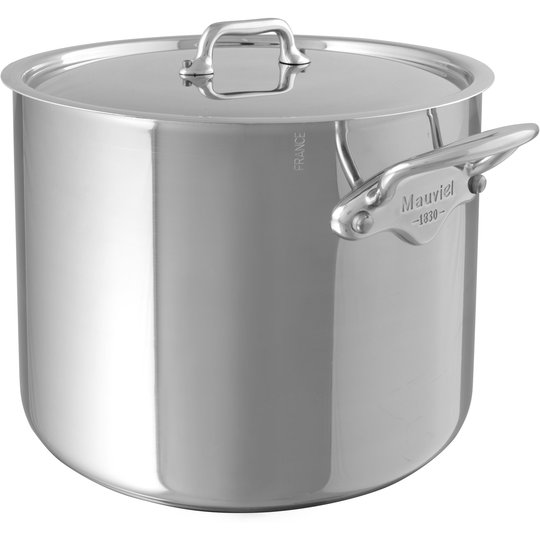 Mauviel Cook Style gryta med lock, 5,4 liter