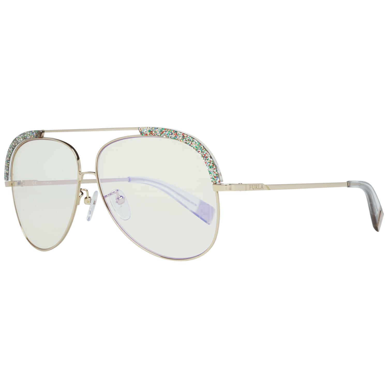 Furla Women's Sunglasses Gold SFU284 60300X