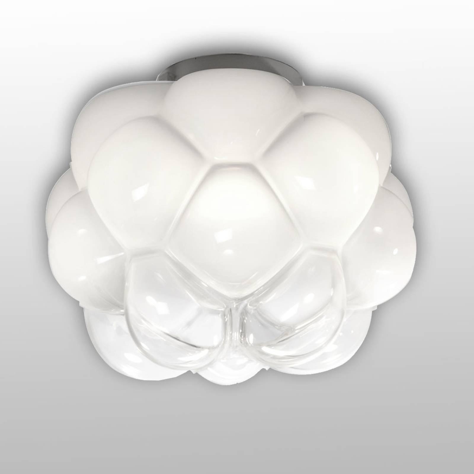 Pilvimäinen LED-kattovalaisin Cloudy, 26 cm