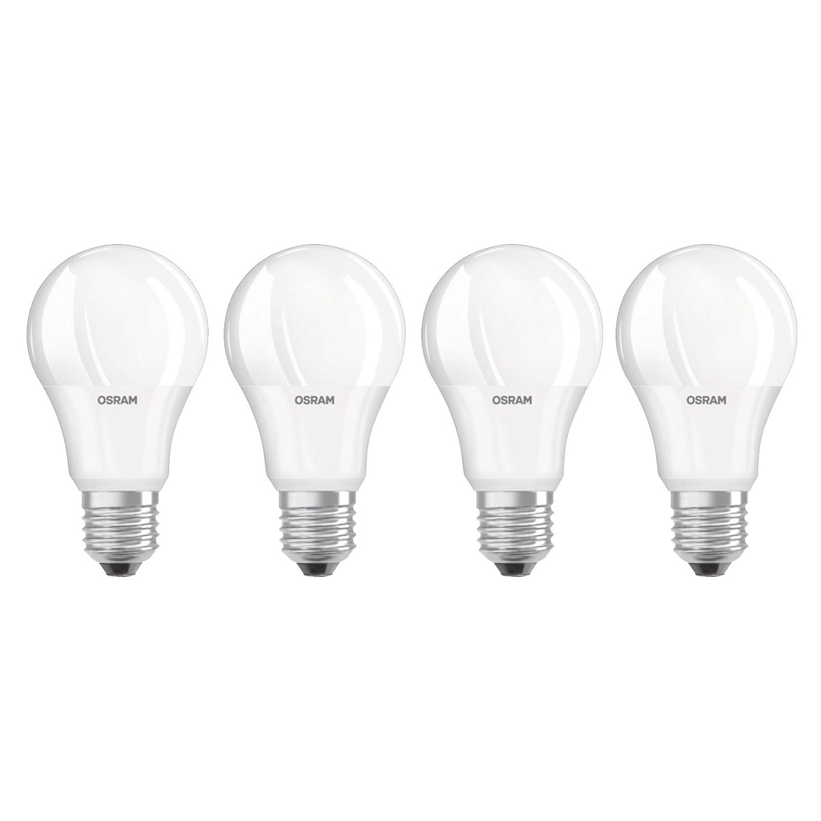 OSRAM-LED-lamppu E27 Base Retro 9W matt 4kpl 2700K