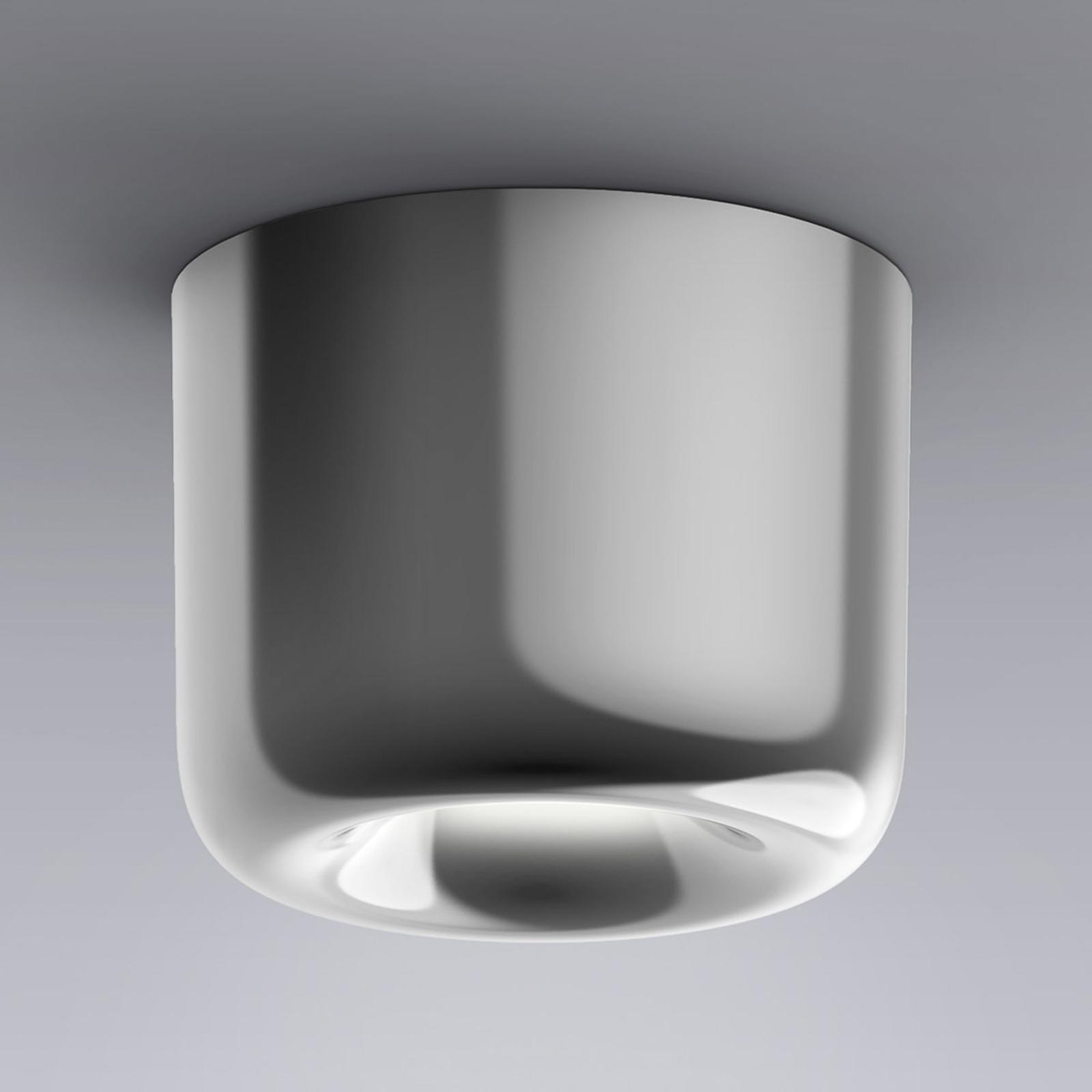 serien.lighting Cavity Ceiling S kiiltävä alumiini