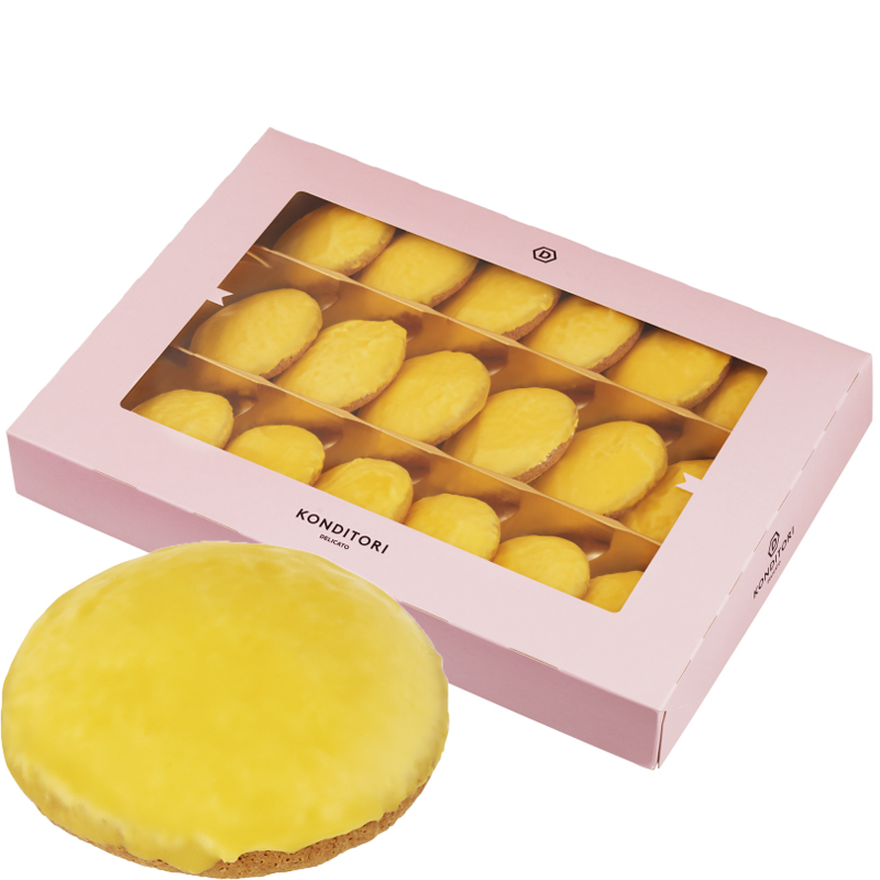 Sitruunaleivoksia 18 x 50g - 44% alennus