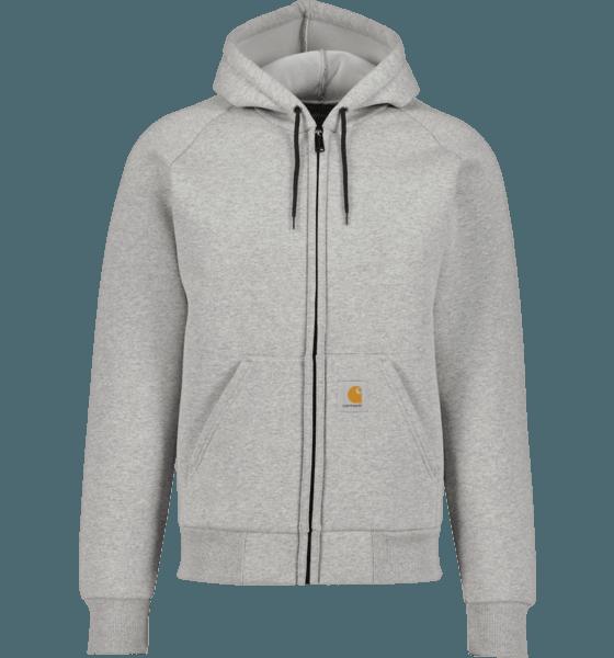 Carhartt M Car-lux Hooded Jacket Jackor GREY HEATHER/GREY