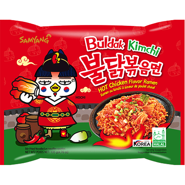 Samyang Hot Chicken Ramen - Kimchi Flavor 140g