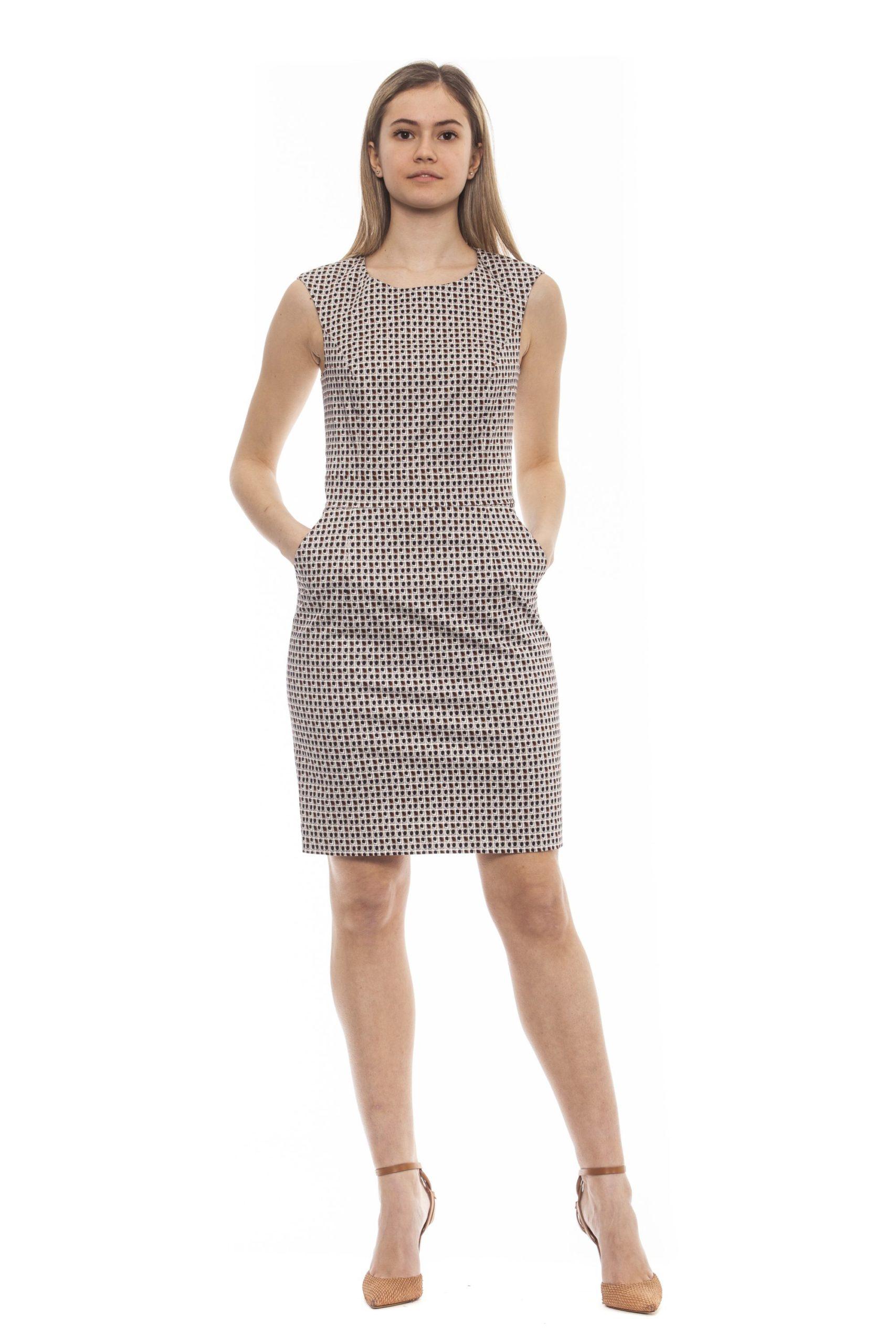 Peserico Women's Dress Multicolor PE1383146 - IT44 | M