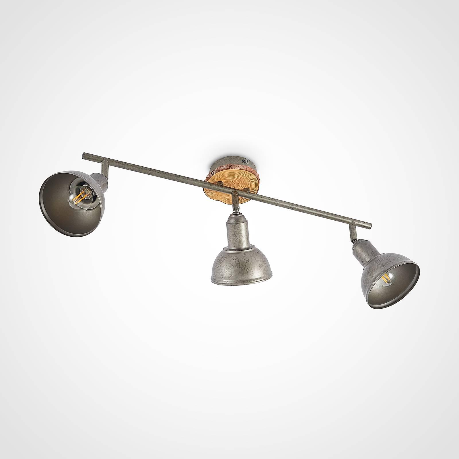 Lindby Nesrin -kattovalaisin 3-lamppuinen