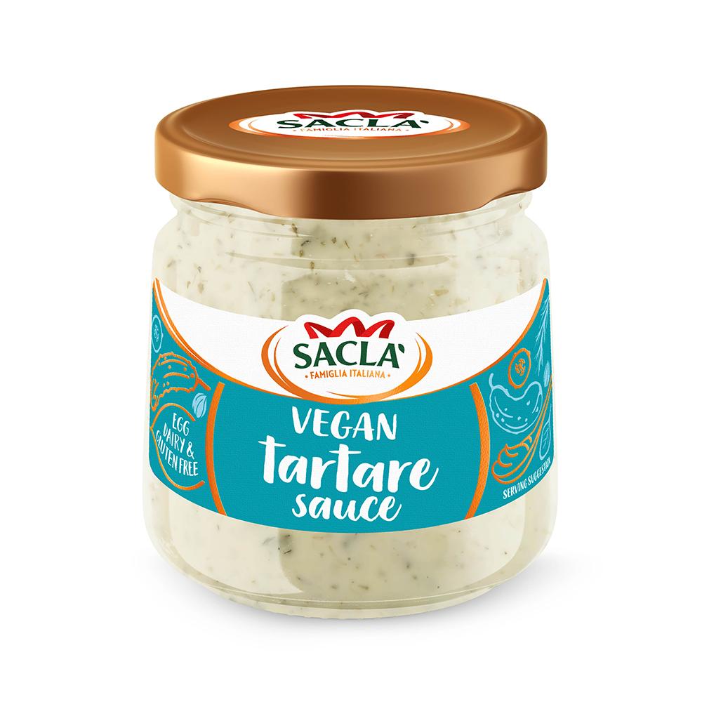 Sacla' Vegan Tartare Sauce 180g