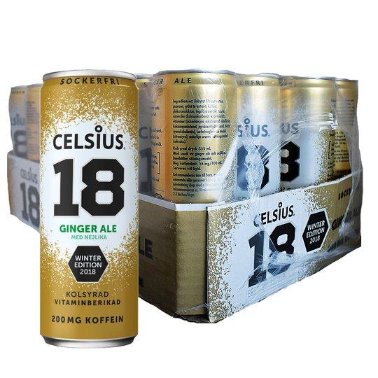 Hel platta Celsius Ginger 24-pack - 33% rabatt