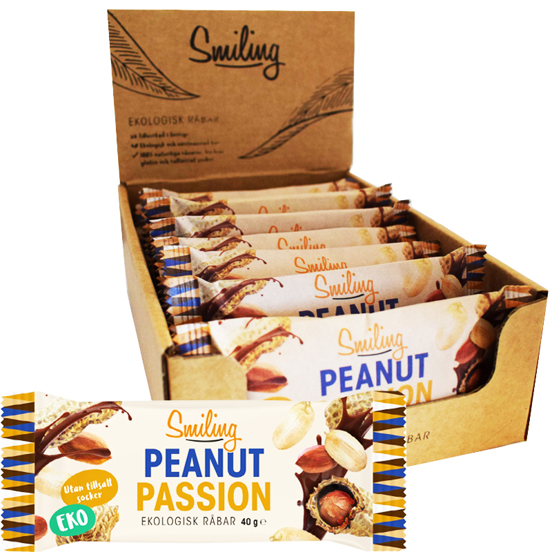 Eko Råbar Peanut Passion 12-pack - 25% rabatt
