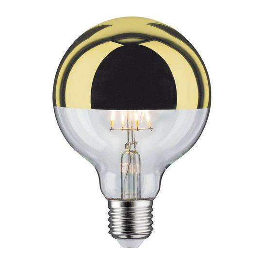 LED-lamppu E27 827 6,5W pääpeili kulta