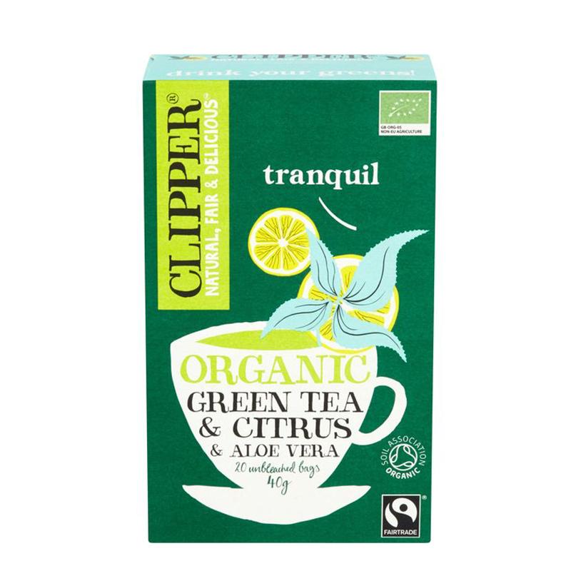EKO Grönt Te Citron & Aloe Vera 20-pack - 29% rabatt