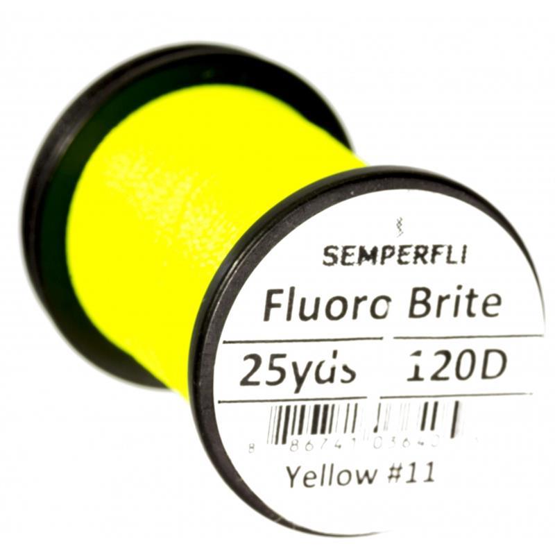 Semperfli Fluoro Brite Phosphor Yellow #11