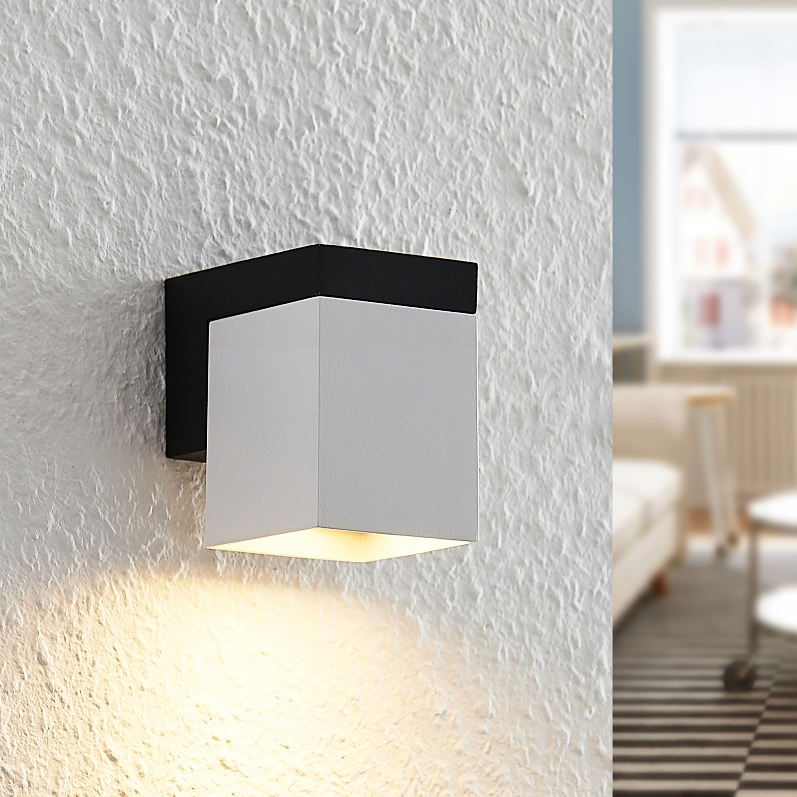 Arcchio Samsa -seinävalaisin, 1-lamppuinen