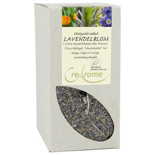 Crearome Ekologiska Lavendelblommor, 100 g