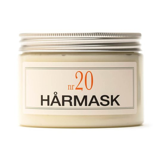 BRUNS Products Hårmask nr 20 - Klassisk Engelsk Ros, 350 ml