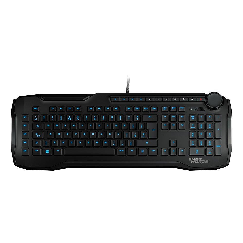 Roccat - Horde - Membranical Gaming Keyboard Black ( Nordic )