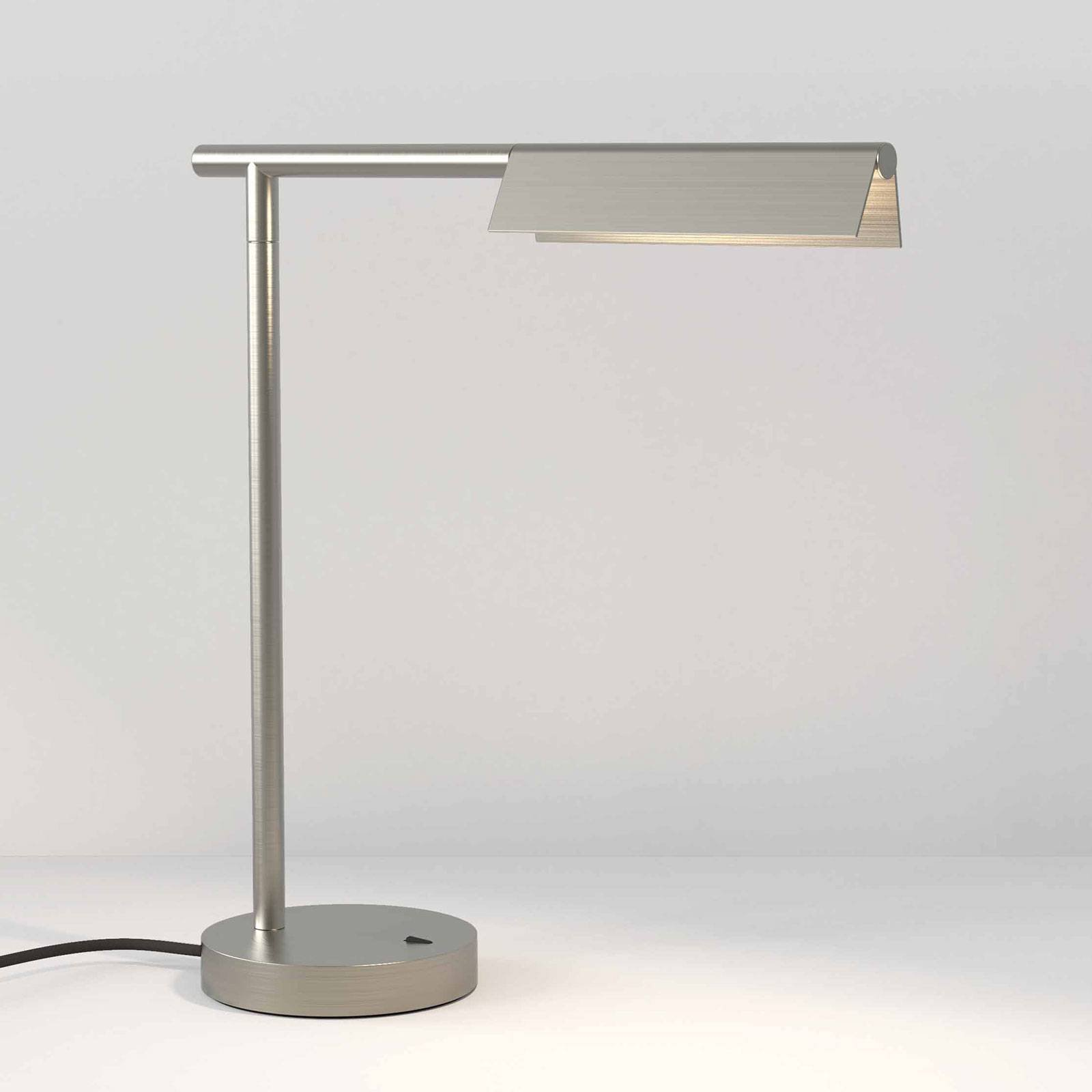 Astro Fold LED-bordlampe, matt nikkel