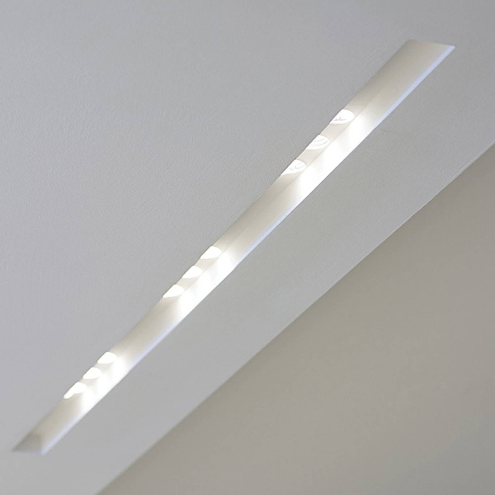 Innbygget LED-taklampe 4191C GU10 lengde 20,5 cm