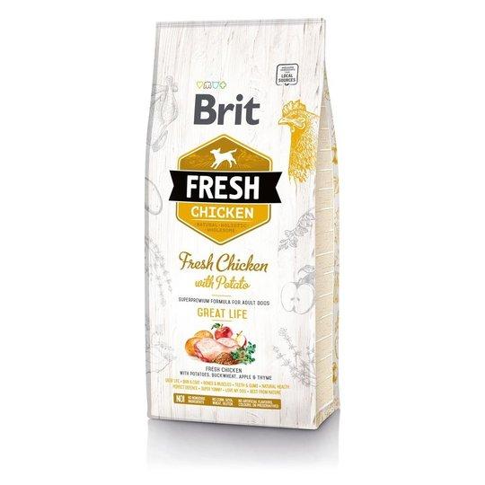 Brit Fresh Chicken with Potato Adult (12 kg)