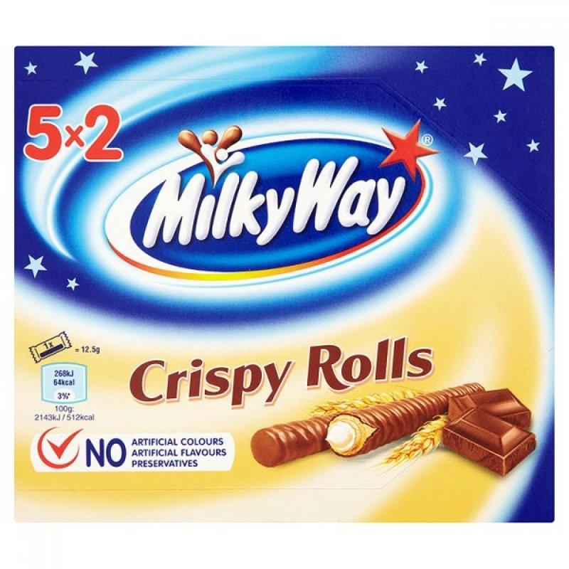 "Våffelrullar ""Crispy Rolls"" 125g - 48% rabatt"