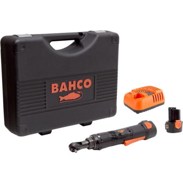 Bahco BCL31R1K1 Skrallehåndtak med 2,0Ah-batterier og lader