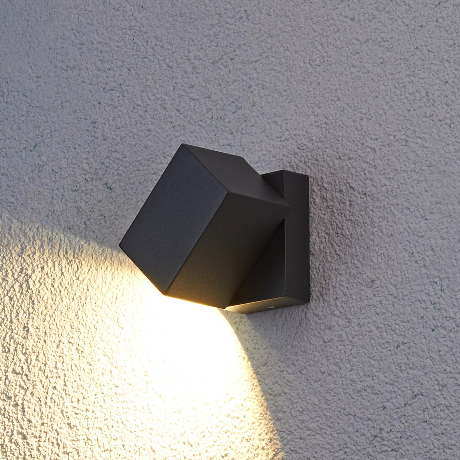 Joustava LED-ulkoseinävalaisin Lorik