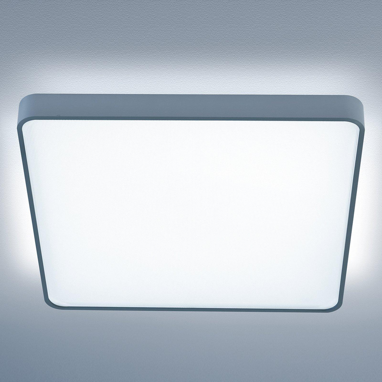 Caleo-X2 kvadr. taklampe LED univer.hvit 90 cm