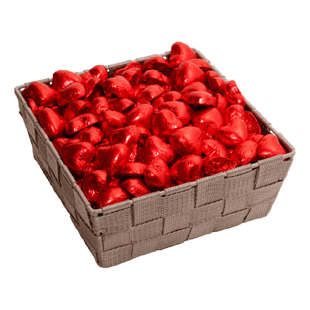 Nougathjärtan Röda Storpack - 250-pack