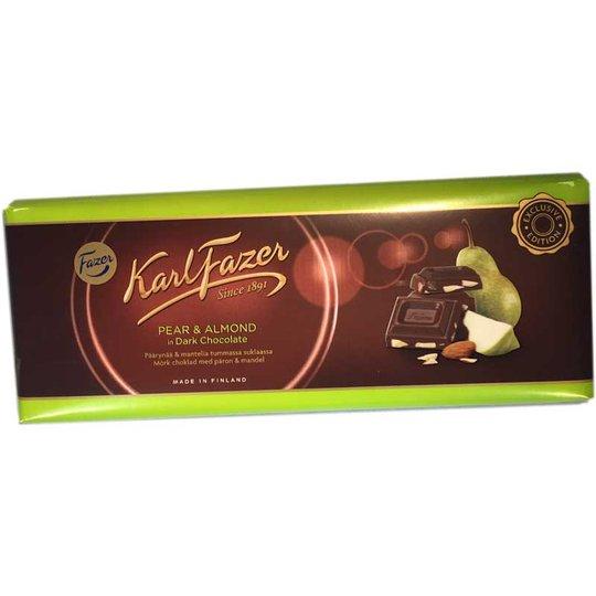Mörk chokladkaka med päron och mandel - 60% rabatt