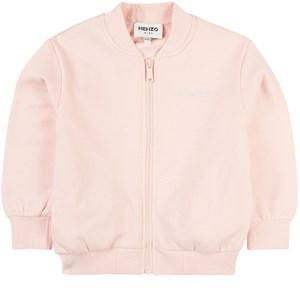 Kenzo Logo Zip-tröja Rosa 4 år