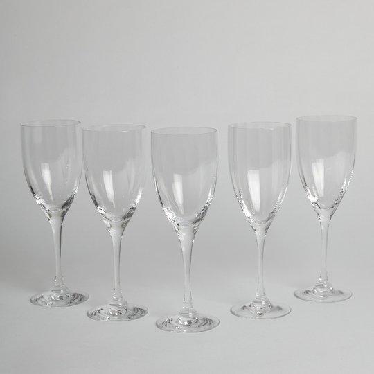 """Orrefors - Vitvinsglas """"Optica"""" 5 st"""