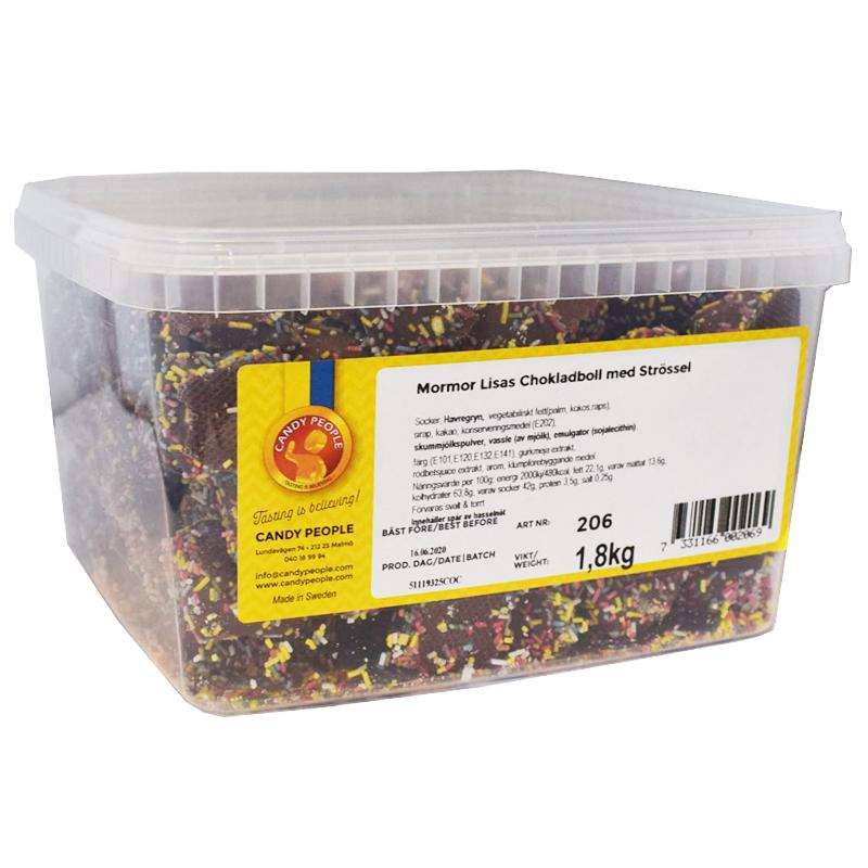 Chokladboll Strössel - 28% rabatt