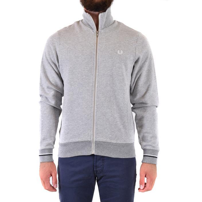 Fred Perry Men's Sweatshirt Grey 178396 - grey XS