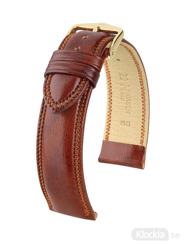Hirsch Ascot 18mm Large Guldbrun/Guld 01575070-1-18
