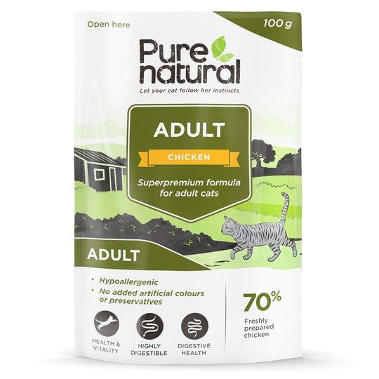 Purenatural Cat Adult Chicken