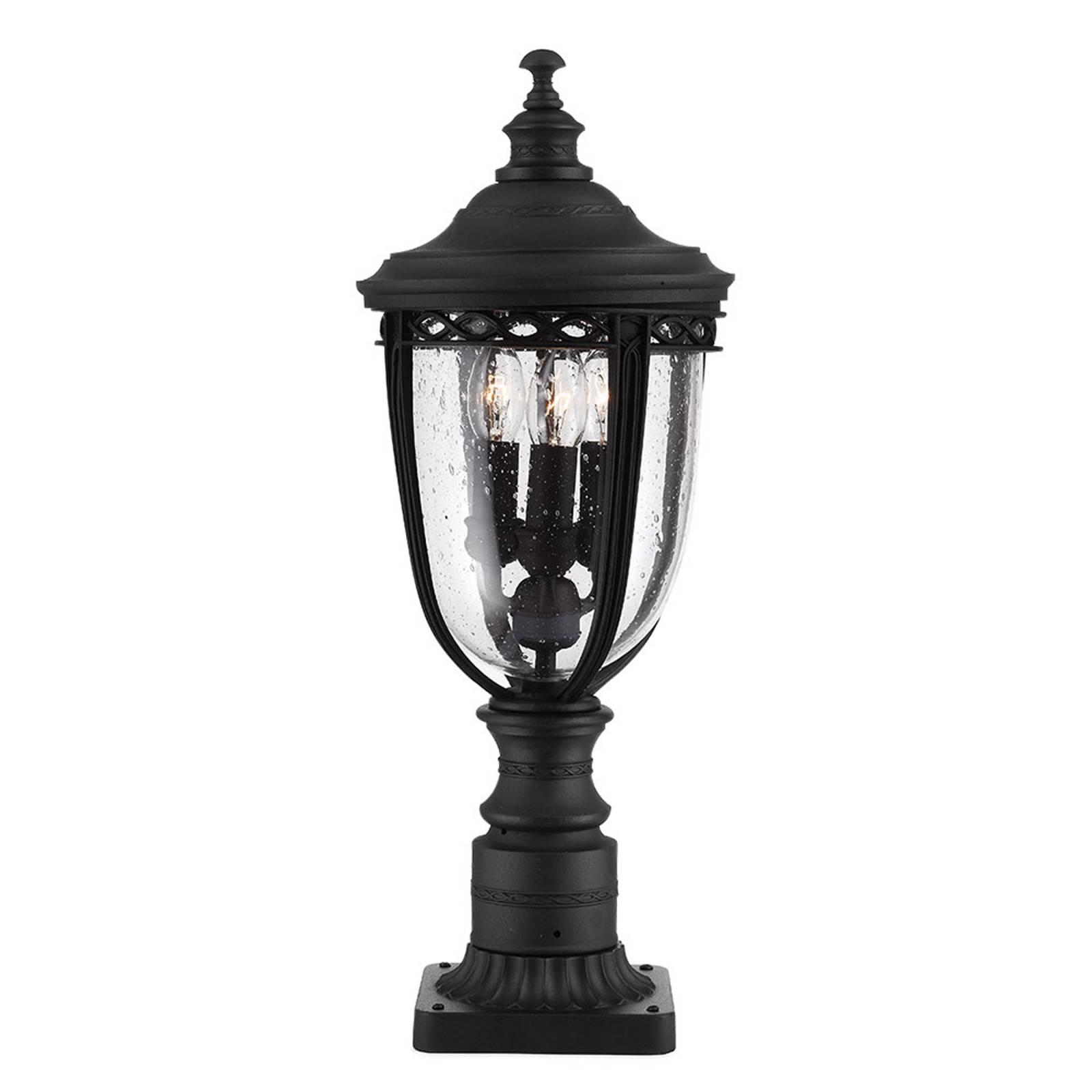 Pollarilamppu English Bridle, musta