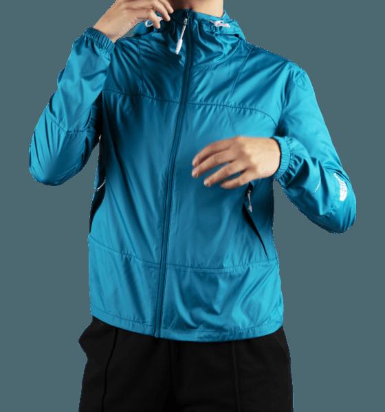 The North Face W Windshell Jkt Jackor CRYSTAL TEAL