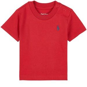 Ralph Lauren Logo Infants Tee T-shirt Röd 3 mån