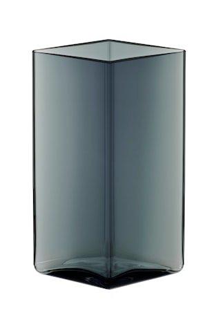 Ruutu vase 115x180 mm Grå