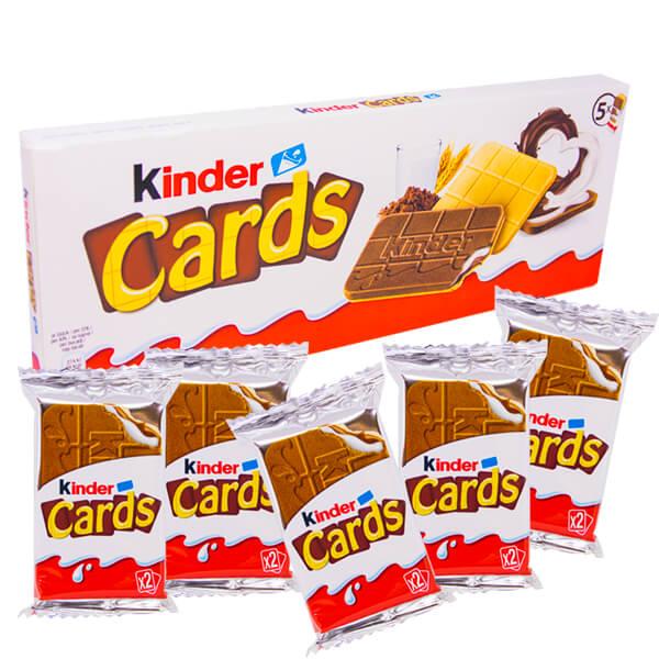 Kinder Cards 128 g - 5-pack