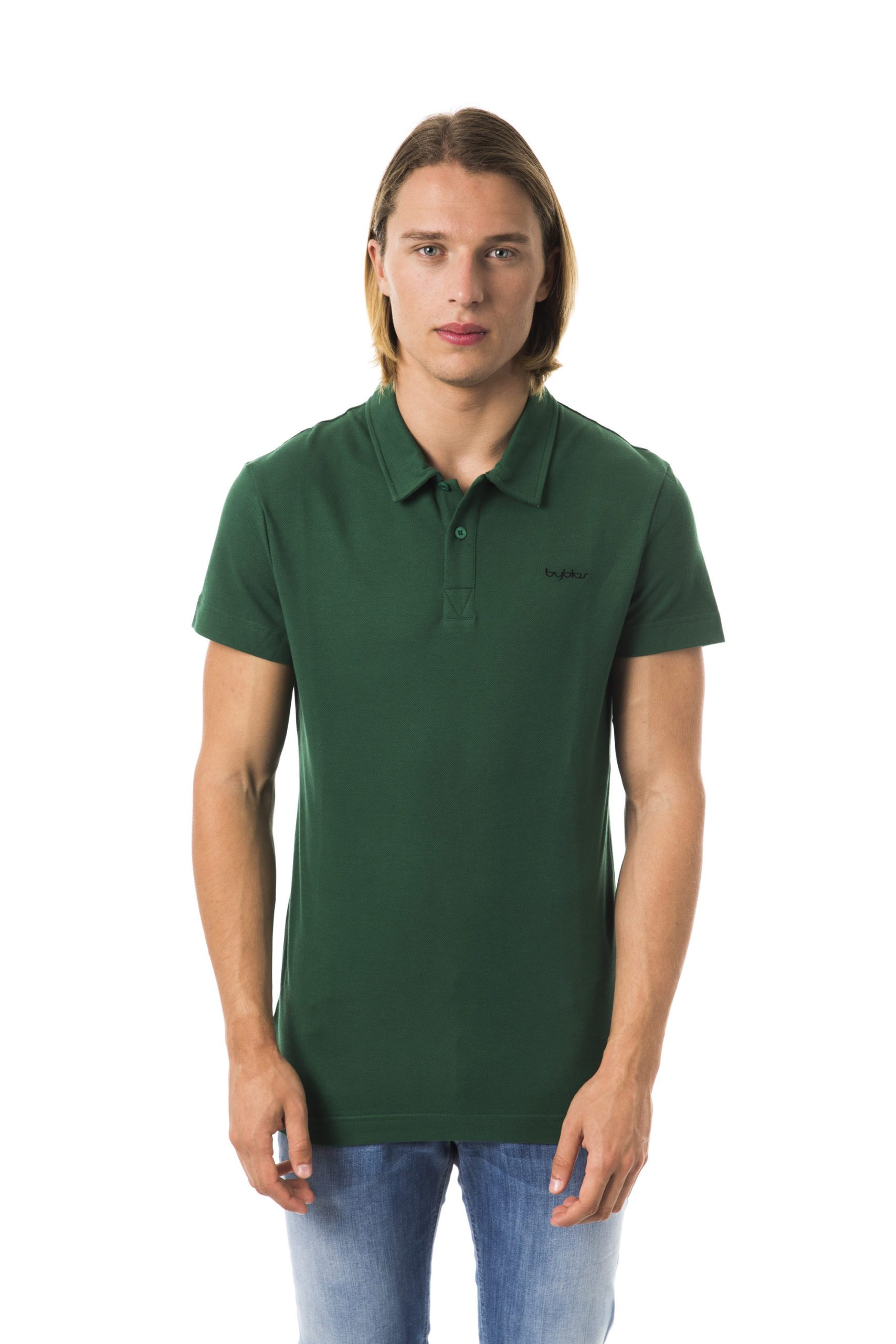 Byblos Men's Polo Shirt Green BY992326 - XL