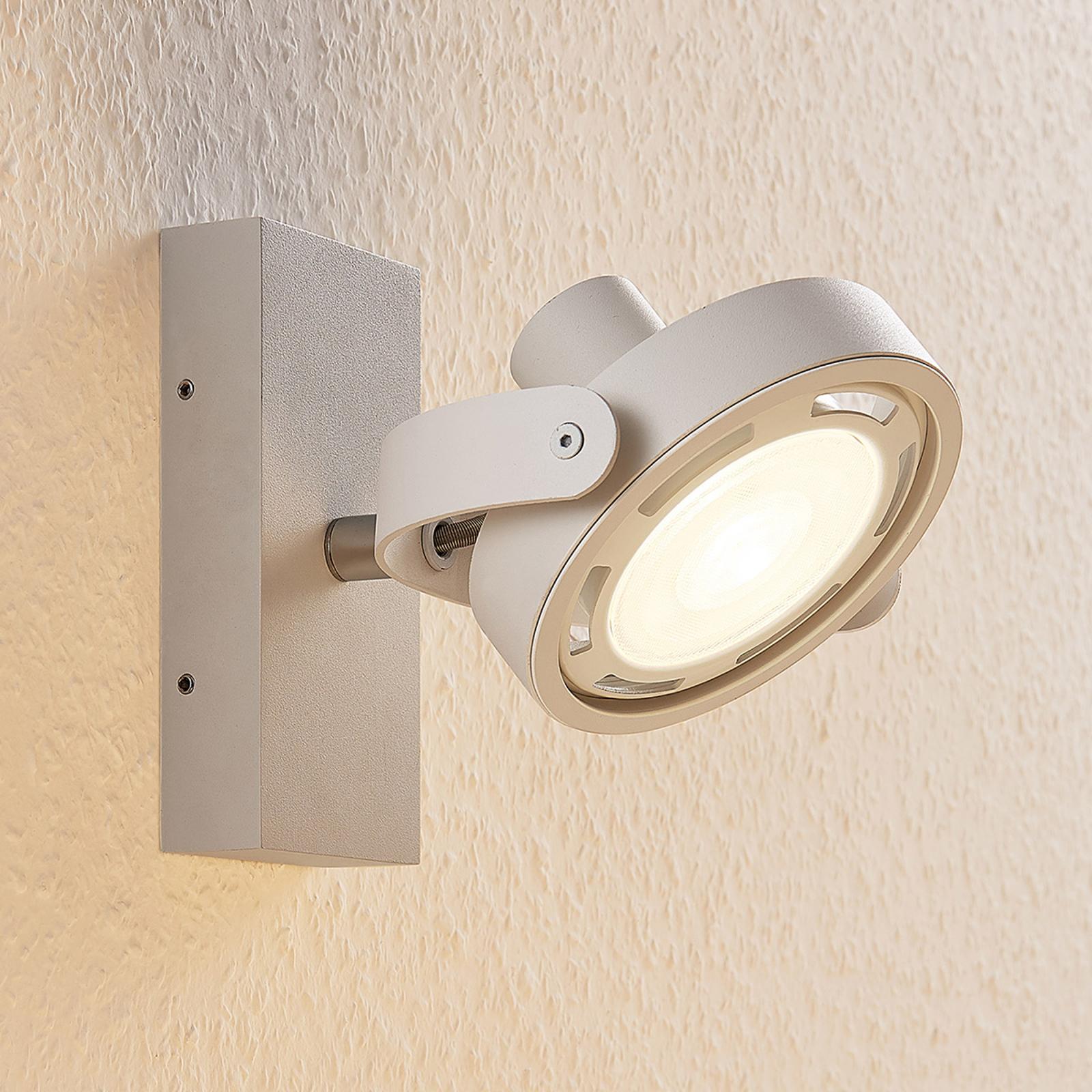 Himmennettävä LED-spotti Munin valkoinen
