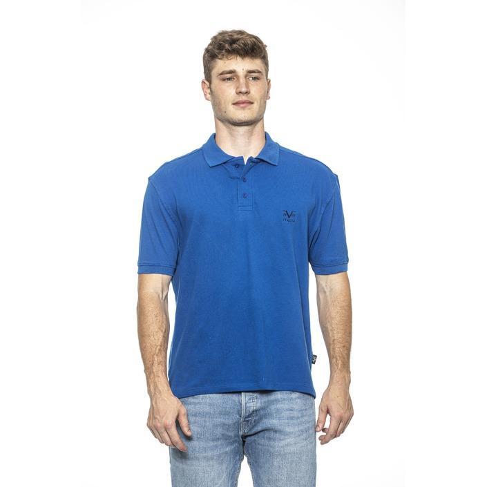 19v69 Italia Men's Polo Shirt Blue 185477 - blue M